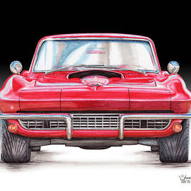 Shannon Watts - 1967 Chevy Corvette Stingray