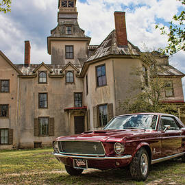 Kristia Adams - 1967 Mustang At The Mansion
