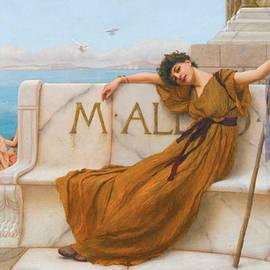 A Priestess of Bacchus - John William Godward