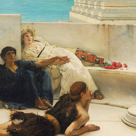 A Reading from Homer - Lawrence Alma-Tadema