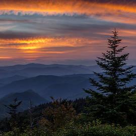 Eric Albright - Blue Ridge Parkway Sunset