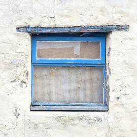 Blue window - Tom Gowanlock