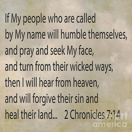 Beverly Guilliams - 2 Chronicles 7 14 If My People