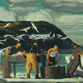 Cleaning Fish - George Bellows