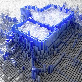 Facebook Like Logo In Pixels - Allan Swart