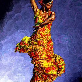 Bruce Nutting - Flamenco Dancer