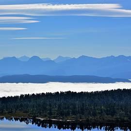 Paul Stout - Fog over the Moldefjorden