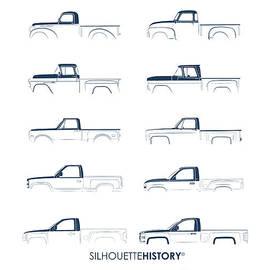 Fullsize Pickup SilhouetteHistory - Balazs Iker