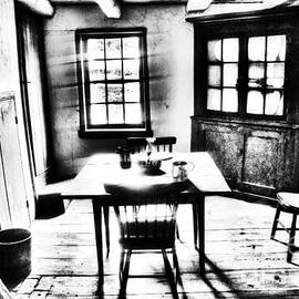 Paul W Faust - Impressions of Light - Kitchen of Meades Headquarters