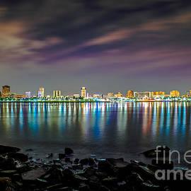 Art K - Long Beach at Night