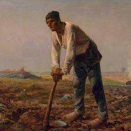 Man with a Hoe - Jean Francois Millet