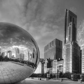 Twenty Two North Photography - Millennium Park in Black and White