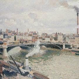 Camille Pissarro - Morning, An Overcast Day, Rouen