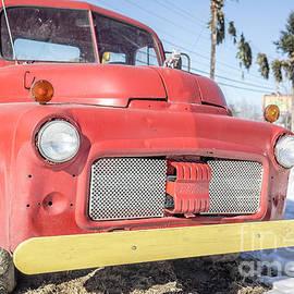 Old Red Farm Truck - Edward Fielding