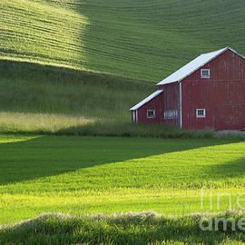 Idaho Scenic Images Linda Lantzy - Palouse Barn