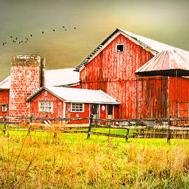 Mary Timman - Red Barn