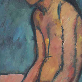 Seated nude - Amedeo Modigliani