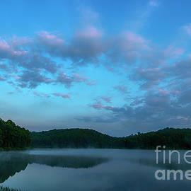 Thomas R Fletcher - Spring Morning at the Lake