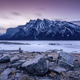 Yves Gagnon - Spring Sunrise Lake Minnewanka