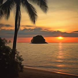 Sergey Lukashin - Sunset on the island of Tioman