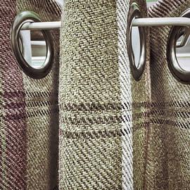 Tartan curtain pattern - Tom Gowanlock
