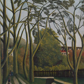 The Banks of the Bievre near Bicetre - Henri Rousseau