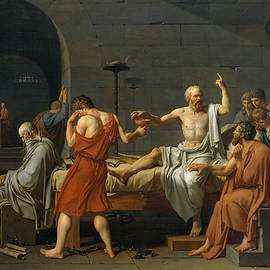 The Death of Socrates - Jacques Louis David