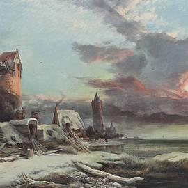 Henry Bright - The setting sun
