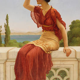 The Signal - John William Godward