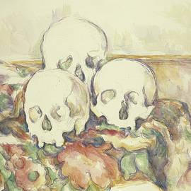 The Three Skulls - Paul Cezanne