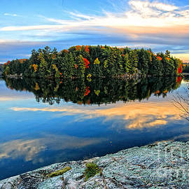 Charline Xia - Tranquil Northern Lake