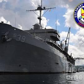 USS EMORY S LAND - Baltzgar