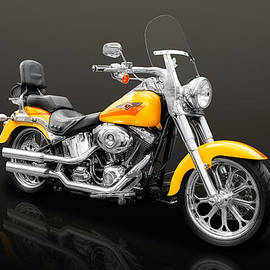 2008 Harley Davidson Fat Boy Motorcycle  -  2008HDFB55