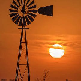Rick Grisolano Photography LLC - 2014 March Windmill at Sunset No1-01