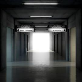 Allan Swart - Sports Stadium Tunnel