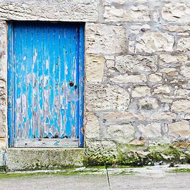 Blue door - Tom Gowanlock