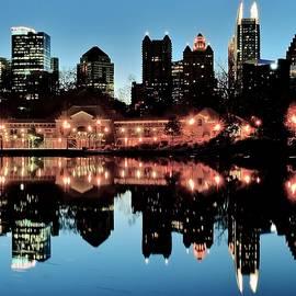 Frozen in Time Fine Art Photography - Atlanta From Piedmont Park