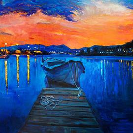 Boyan Dimitrov - Boats and the city by Ivailo Nikolov