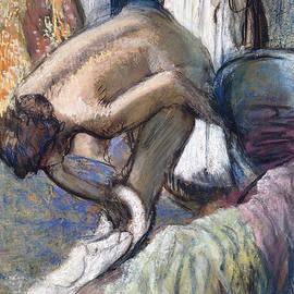 Breakfast after the Bath - Edgar Degas