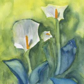 Frank Bright - 3 Calla Lilies