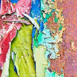 Cracked paint - Tom Gowanlock