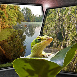 Susan Whitaker - 3-D Lizard