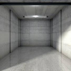 Empty Single Garage - Allan Swart