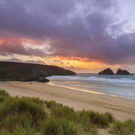 Chris Smith - Holywell Bay Sunset