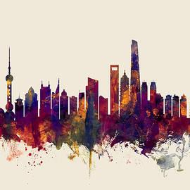 Shanghai China Skyline - Michael Tompsett