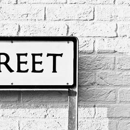 Street sign - Tom Gowanlock