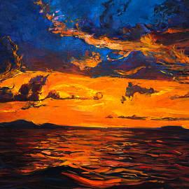 Boyan Dimitrov - Sunset over ocean by Ivailo Nikolov