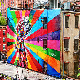 Allen Beatty - V - J Day Mural by Eduardo Kobra