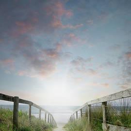 Beach view - Les Cunliffe
