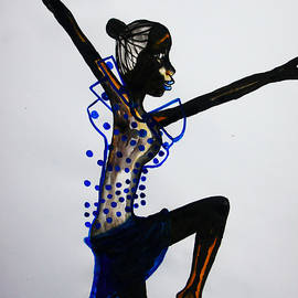 Gloria Ssali - Dinka Dance - South Sudan